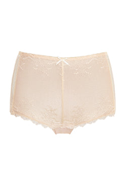 Basic High-Cut Shorties - Beige