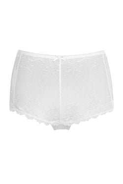 Basic High-Cut Shorties - White