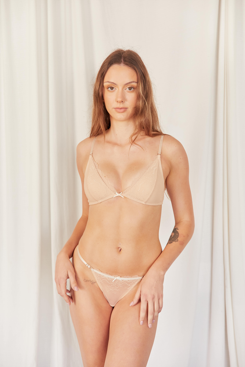 Basic Thong - Beige