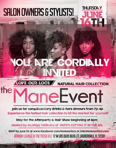 The Mane Event Love Our Locs Natural Hair Collection