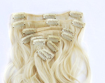 Blondie - Blonde Body Wave Clip Ins