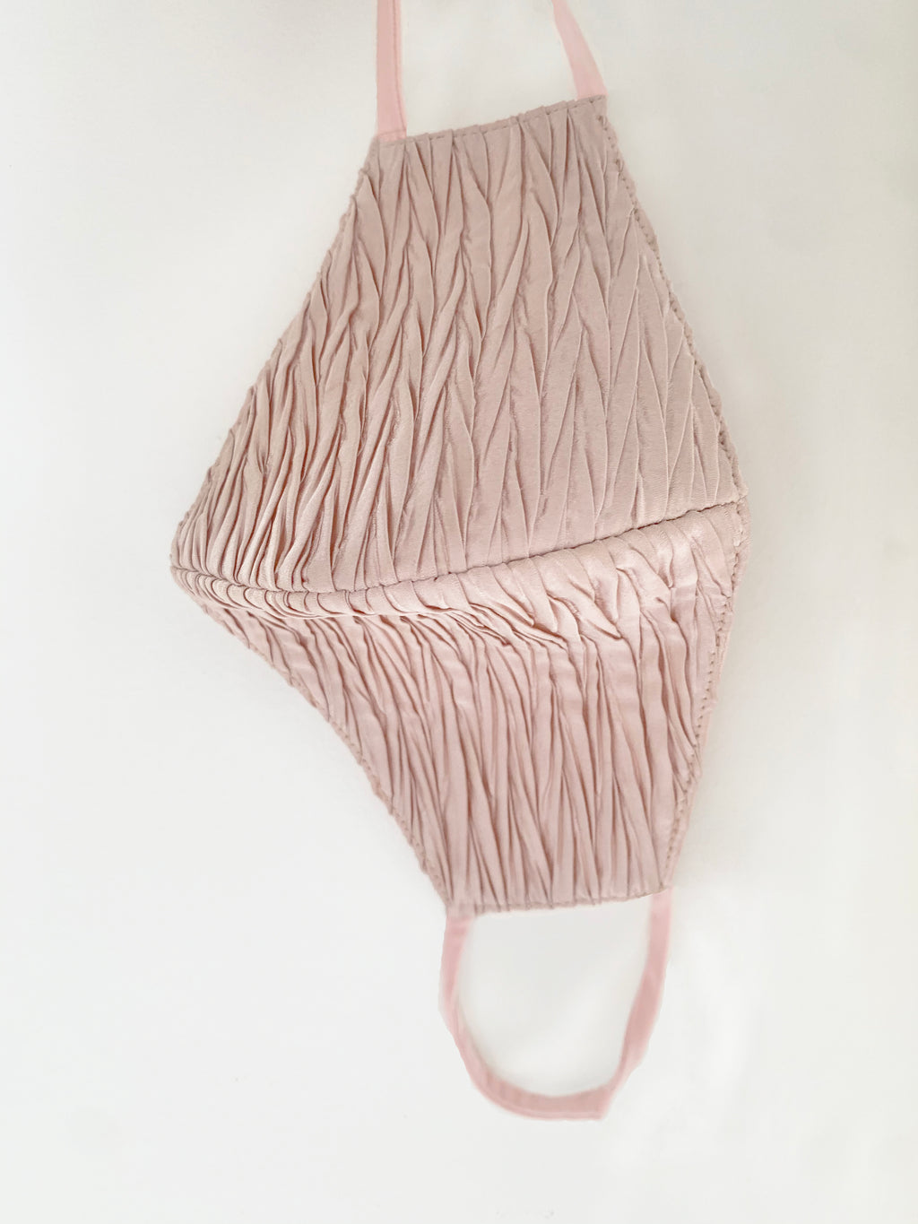 Blush Pleated