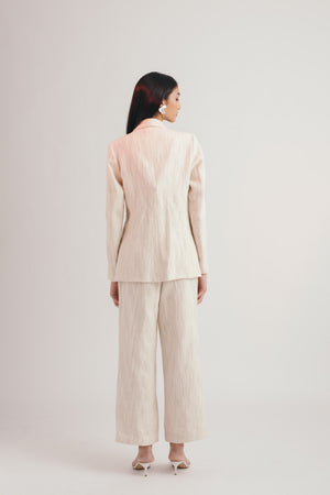 Ivory Cloud Trousers - Bhaavya Bhatnagar