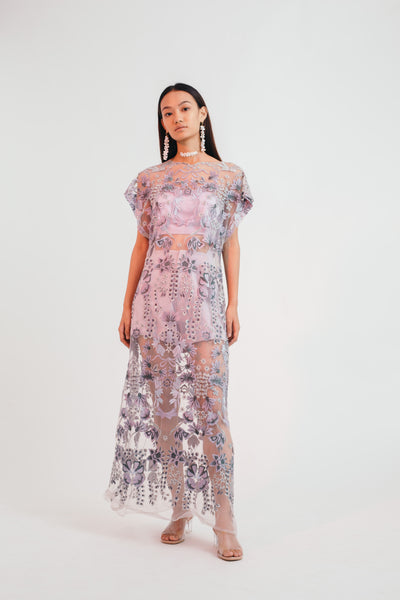 Mystical Meadow Sheer Dress - Bhaavya Bhatnagar