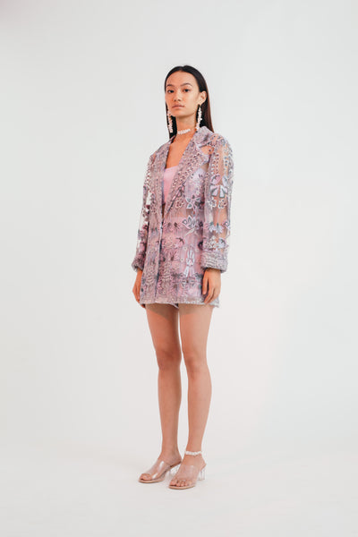 Mystical Meadow Summer Blazer - Bhaavya Bhatnagar