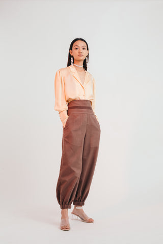 Chestnut Jogger Trousers