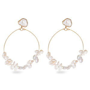 We danced in the moonlight'  Earrings - Bhaavya Bhatnagar