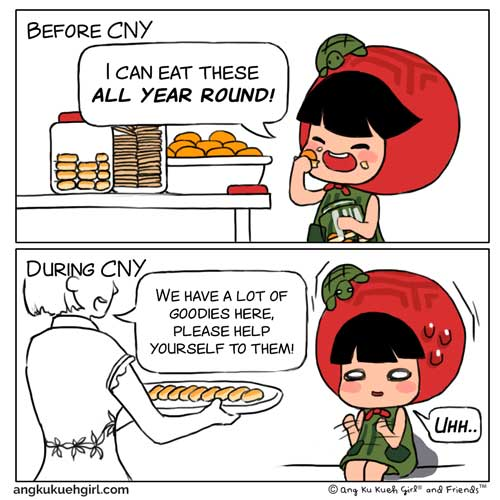 Weekly Comic: Before CNY vs After CNY