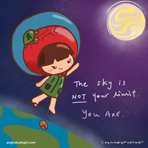 Motivational Mondays: The Sky is Not The Limit