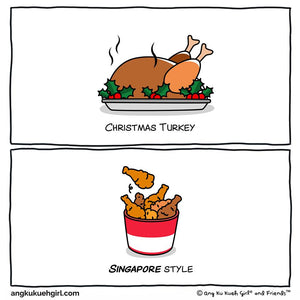 Christmas in Singapore Style: Turkey