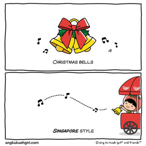 Christmas in Singapore Style: Christmas Bells