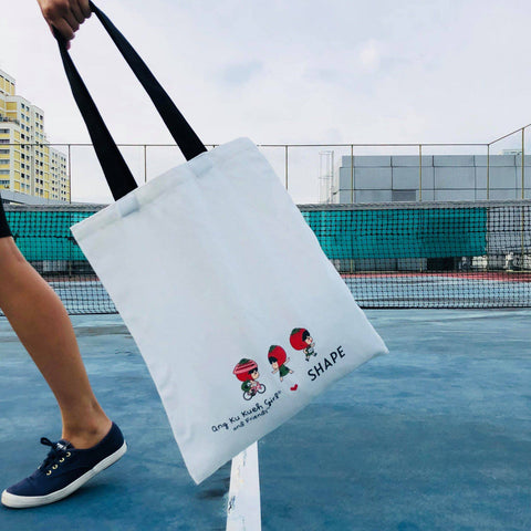 Ang Ku Kueh Girl Shape Run 2018 Goody Bag Back