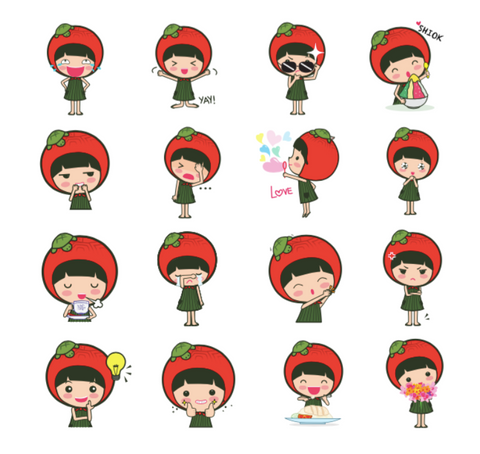 A total of 16 stickers have been designed for SG50, and they will be made  available on WeChat's sticker gallery from 1 August. The emoticon sticker  pack can ...
