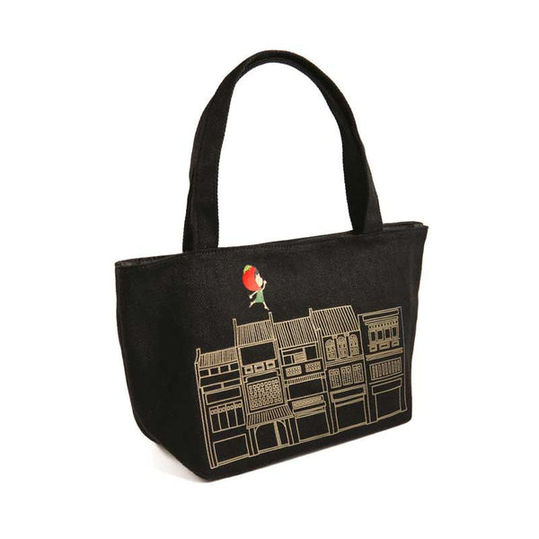 Ang Ku Kueh Girl and Friends Shophouse Series Mini Tote