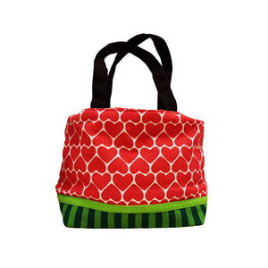Ang Ku Kueh Girl's B.F.F. Drawstring Lunch Bag (Watermelon)