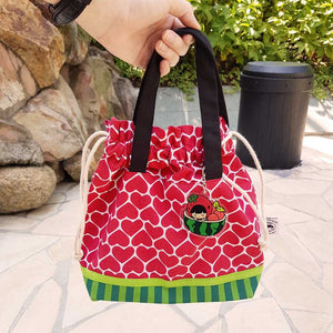 Ang Ku Kueh Girl's B.F.F. Bag Charm (Watermelon)