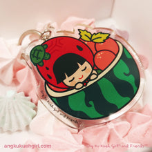 Load image into Gallery viewer, Ang Ku Kueh Girl's B.F.F. Bag Charm (Watermelon)