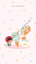 Load image into Gallery viewer, Phone Wallpaper (Mint Ice Cream)