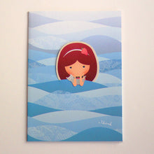 Load image into Gallery viewer, Png Kueh Girl Mermaid Card with Bookmark