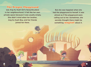 Ang Ku Kueh Girl & Friends: The Magical Dragon Playground
