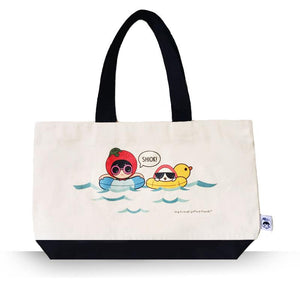 Ang Ku Kueh Girl And Red Egg Travel Series - Tote Bag (Holiday) Bags