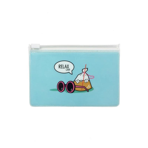 Ang Ku Kueh Girl And Red Egg Travel Series - Pouch (Set Of 3) Bags