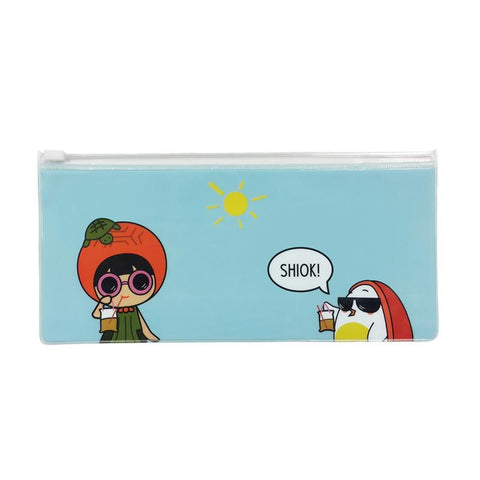 Ang Ku Kueh Girl and Red Egg Travel Series - Travel Pouch (Set of 3)
