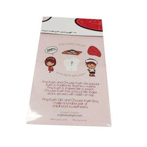 A Teochew Love Story: Sticker Pack Stationery