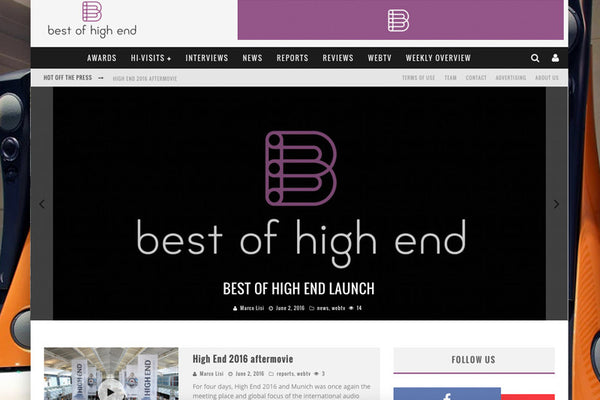 Best of High End - launched !