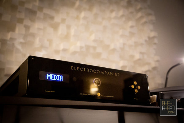 Artnovion meets Electrocompaniet meets Cube Audio Evenement at BELHiFi