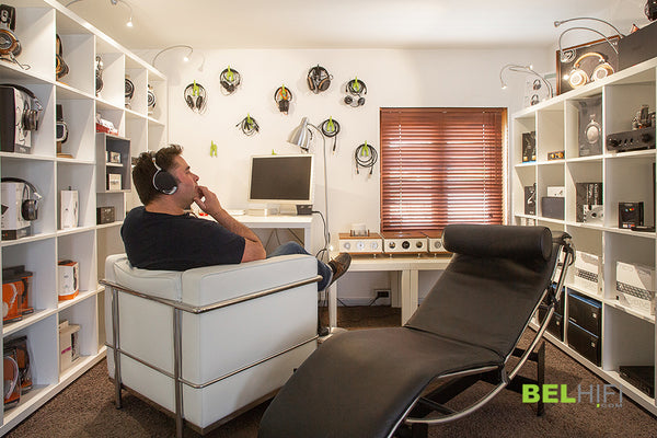 BELHiFi Headphones Room
