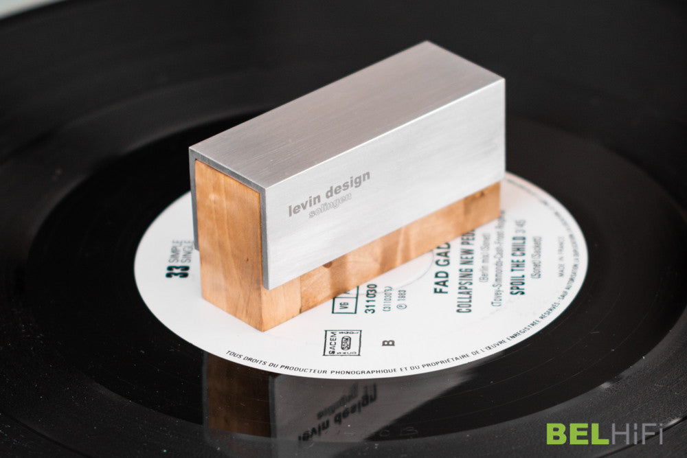 Karelian Maser Birch Phono Cartridge Brush