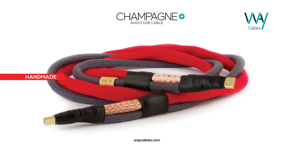 Champagne+ USB A-B cable