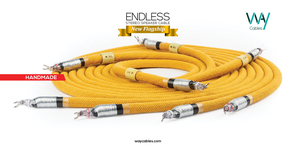 Endless speaker cables (PAIR)