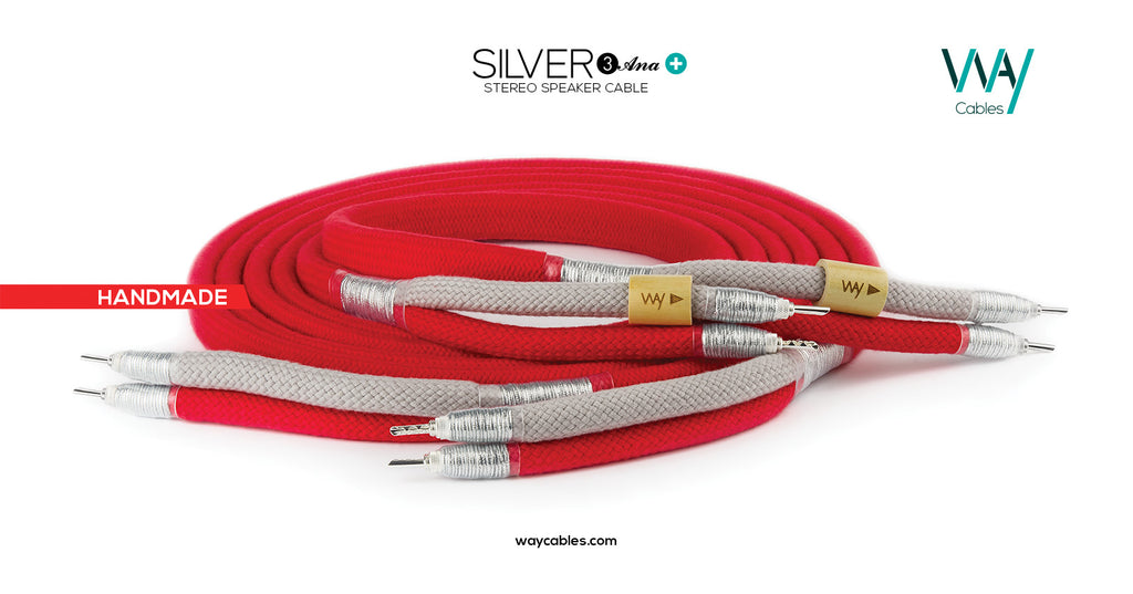 Silver3 ANA+ speaker cables (PAIR)