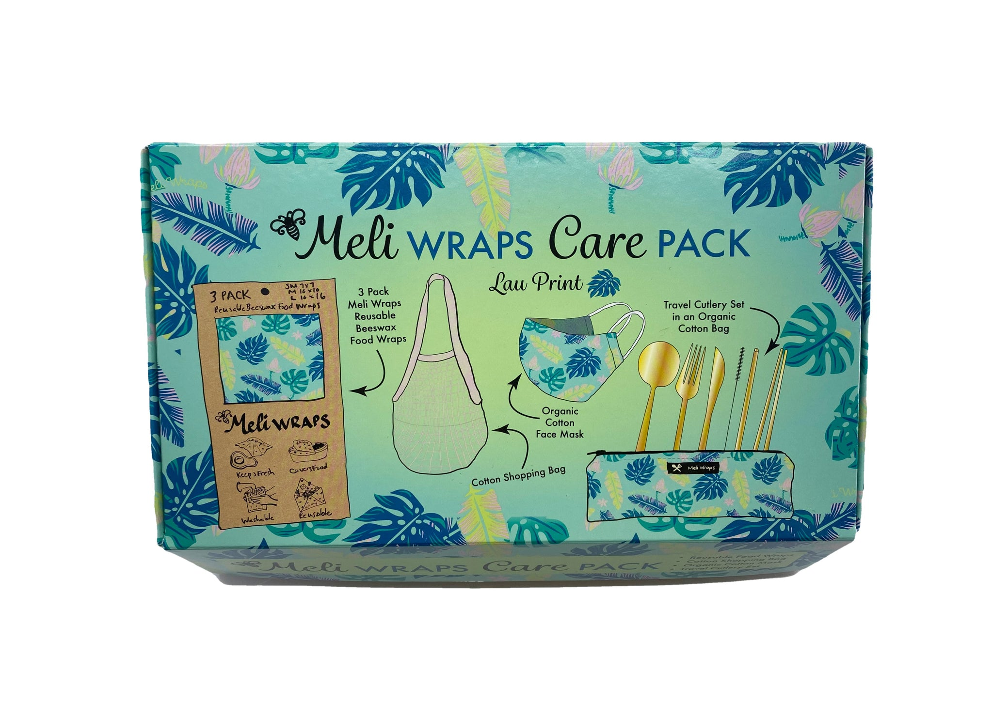 Meli Wraps Care Collection Lau Care Pack