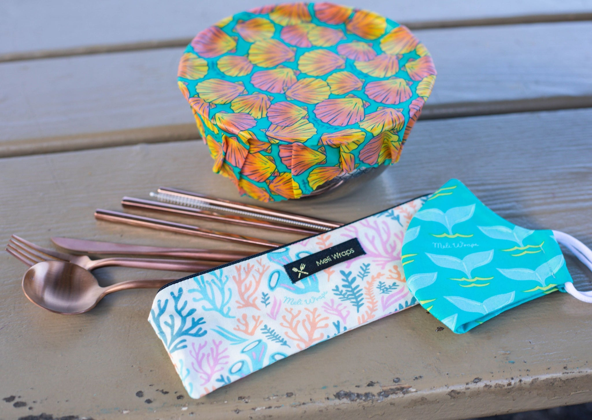 Meli Wraps Travel Eco Pack- Reef