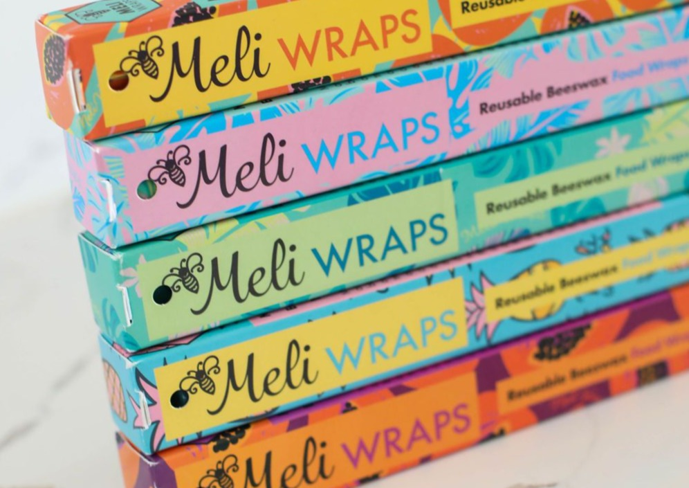 Meli Wraps® Beeswax Wrap Bulk Roll - Pineapple Print