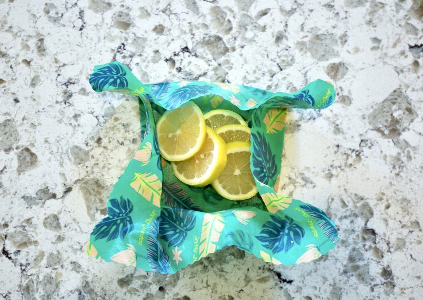 Meli Wraps Reusable Beeswax Wrap - Lau Print