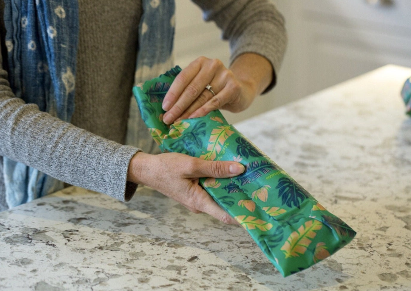 Meli Wraps® Reusable Beeswax Wrap - Lau Print