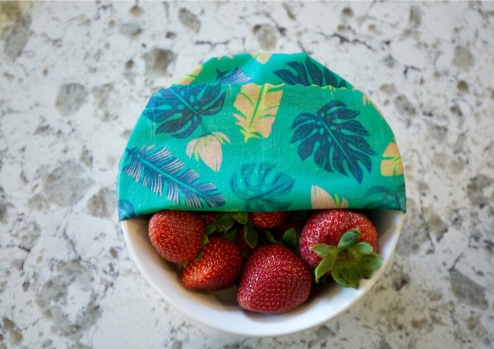 Meli Wraps Reusable Beeswax Wrap - Hawaiiana Variety Pack