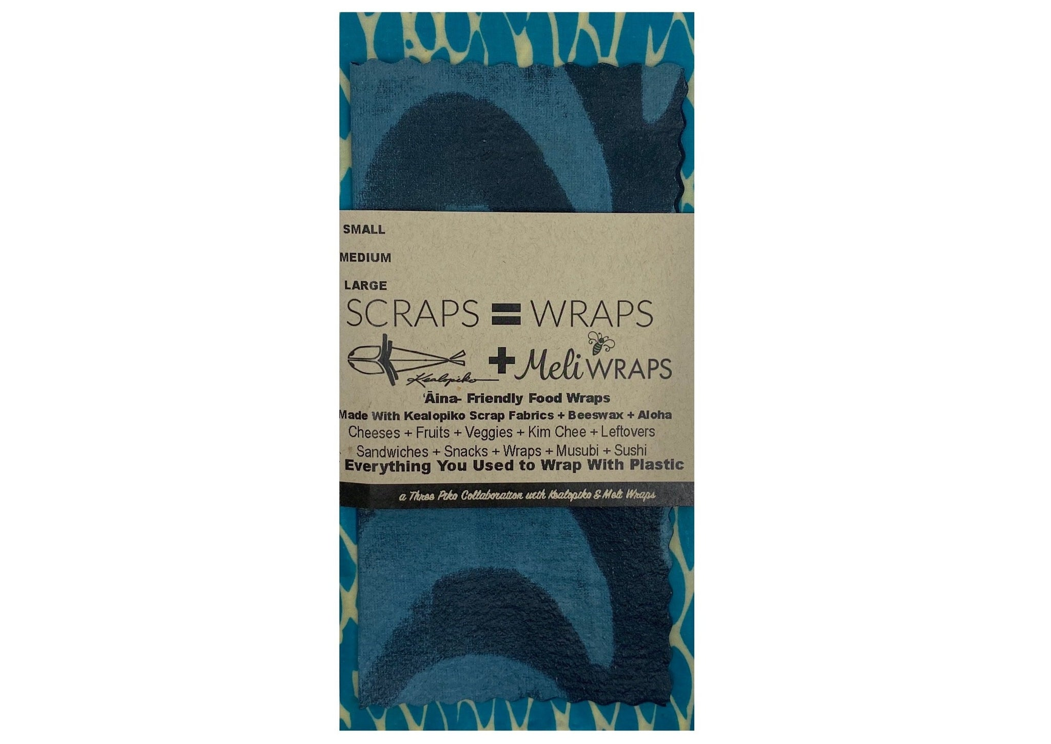 Scraps=wraps small/medium