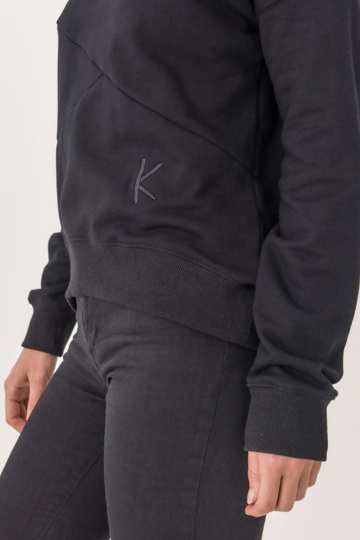 Womens 'K' crew sweater