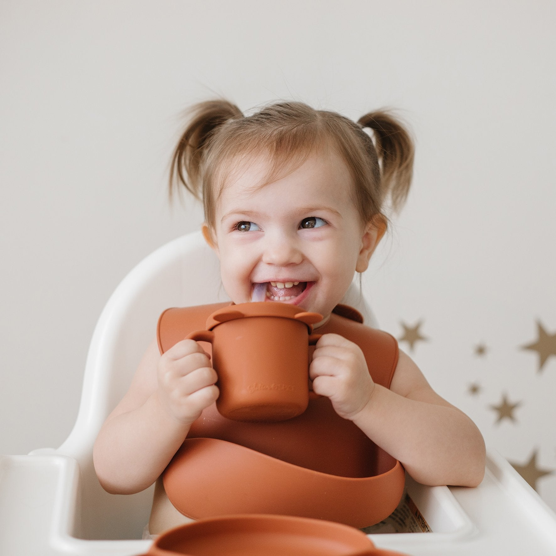 Grow with Me Silicone Bear Cup - Glitter & Spice Canada