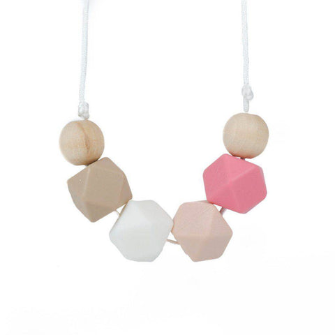 Silicone Teething Necklace - Cora - Glitter & Spice Canada