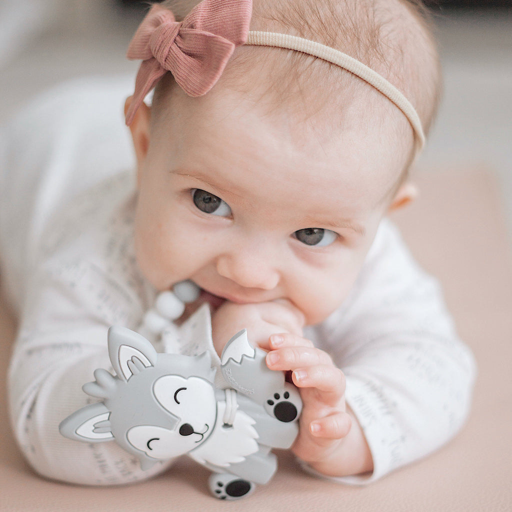 Wolf Pup Teether - Glitter & Spice Canada