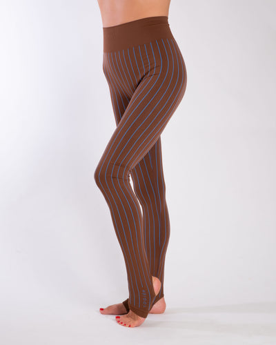 SIRI SEAMLESS LEGGINGS - STRIPE