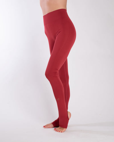SIRI SEAMLESS LEGGINGS - RED