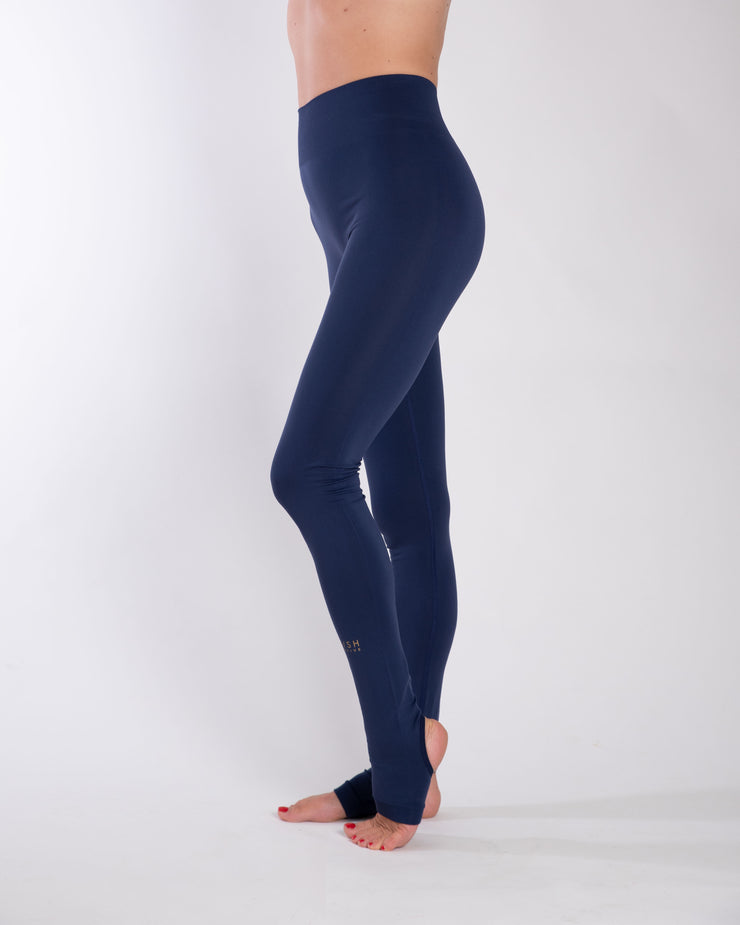 SIRI SEAMLESS LEGGINGS - ECLIPSE BLUE