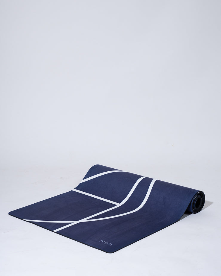 LUXE YOGA MAT - MIDNIGHT PURPLE